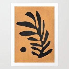 Minimal Abstract Art 10 Art Print