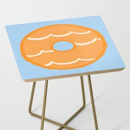 Orange Party Ring Biscuit Side Table