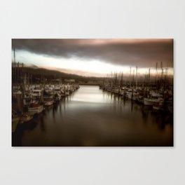 Unbalanced Half Moon Bay California Canvas Print