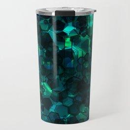 Fever Pitch - Aqua Variant Travel Mug