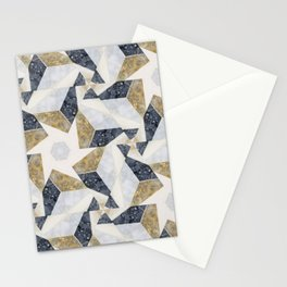 Marble Tesselations Stationery Cards