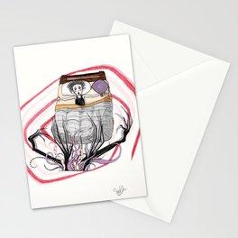 El Monstruo Pintado (Parte I) Stationery Cards