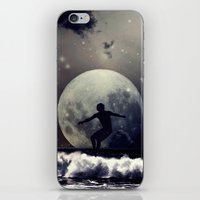 surfer iPhone & iPod Skins featuring Surfer by Monika Strigel