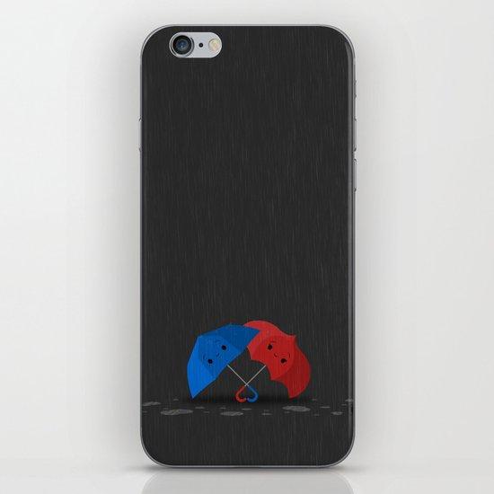 Blue&Red iPhone & iPod Skin