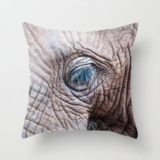 The Elephant Sanctuary 02 Throw Pillow