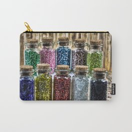 Glass Beads  Carry-All Pouch