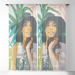 Nature Lover Sheer Curtain