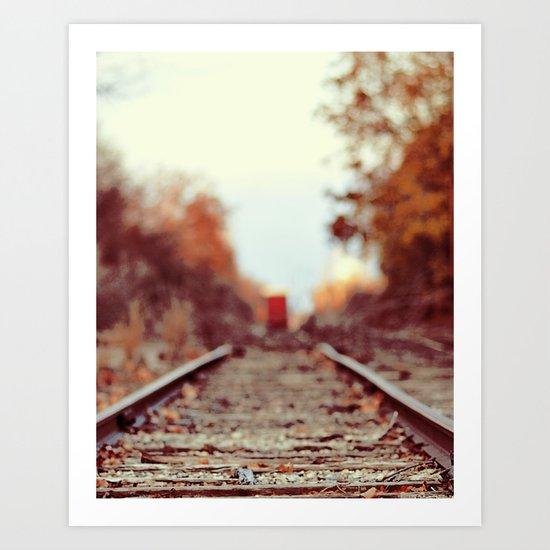 Train Song Art Print