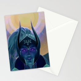 Dota2 - Lunara Variant Stationery Cards