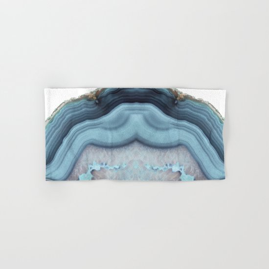 Light Blue Agate Hand & Bath Towel