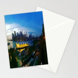 New York City as viewed from the Beautiful Brooklyn Heights Stationery Cards
