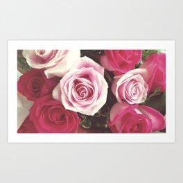 Roses are Love Art Print
