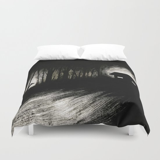 The darkness Duvet Cover
