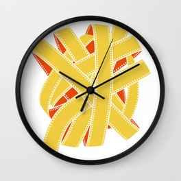 great balls of film Wall Clock