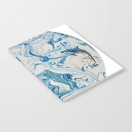 Blue Dolphin Planet Notebook