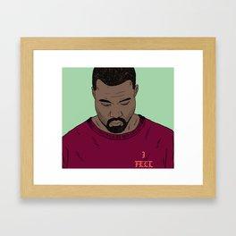 I Feel Like Pablo Framed Art Print