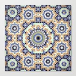 Pixel wallpaper 9 Canvas Print