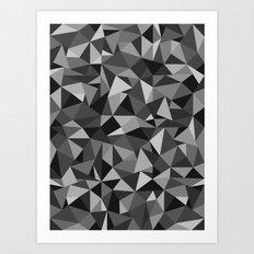 Graphic Geometric Pattern Art Print