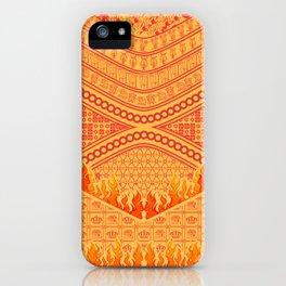batik pattern for catholic religion iPhone Case