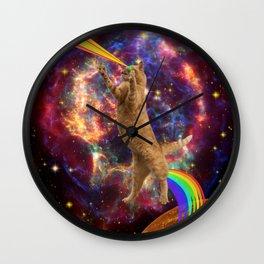 CAT SPACE  Wall Clock
