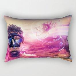 The Fugitive Rectangular Pillow