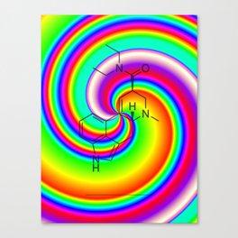LSD swirl Canvas Print