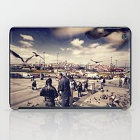 istanbul iPad Cases featuring Istanbul by Anto Bozzini