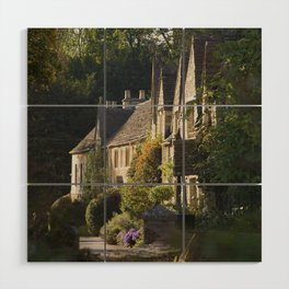 Not the manor Wood Wall Art