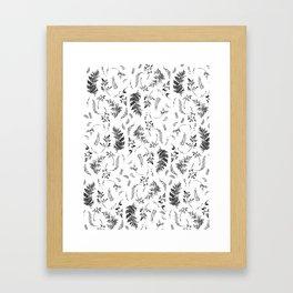 FERN PRINT Framed Art Print