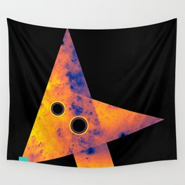 Fox, Exploring Space Wall Tapestry