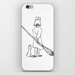 Believe in Yourself (Kiki) - Sketch iPhone Skin