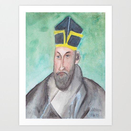 Matteo Ricci Art Print