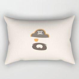 My little orange Pirate Rectangular Pillow