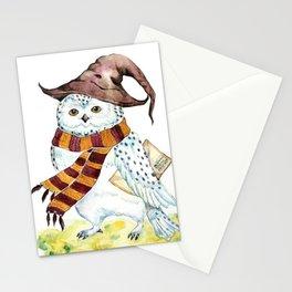 Snowy White Owl  Stationery Cards