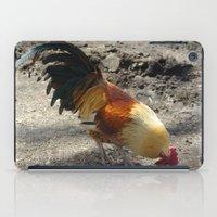 chicken iPad Cases featuring Chicken by Mylittleradical