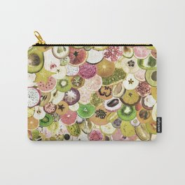 Fruit Madness (All The Fruits) Vintage Carry-All Pouch