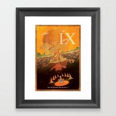 Vintage FF Poster IX Framed Art Print
