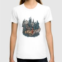red riding hood T-shirts featuring Little Red Riding Hood by Anne Lambelet