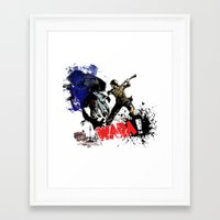 poland Framed Art Prints featuring Poland Wara! by viva la revolucion