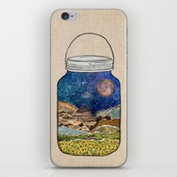 bruce springsteen iPhone & iPod Skins featuring Star Jar by Jenndalyn