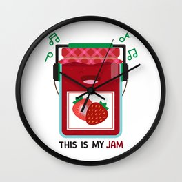 This is My Jam Wall Clock