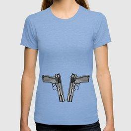 Hip Tattoo Pistols T-shirt