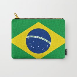 Brazilian Geometric Graphic Flag Carry-All Pouch