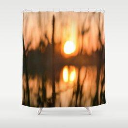 Cattails Shower Curtain