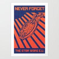 Remember Skyhook Art Print