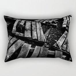 Crumbled Rectangular Pillow