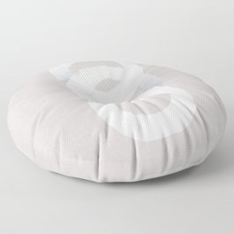 Three circles together Floor Pillow