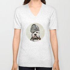 Sir Dandie Dinmont Terrier Unisex V-Neck