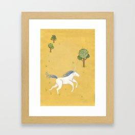 Unihorn Framed Art Print
