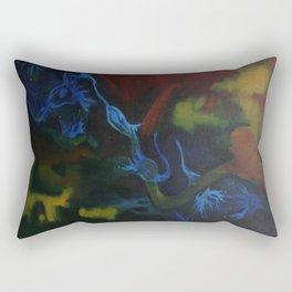 Dendritic Play Rectangular Pillow